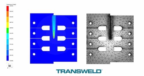 TRANSWELD laser beam welding simulation