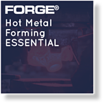 Module FORGE® Hot Metal Forming Essential