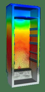 PU foam injection simulation REM3D