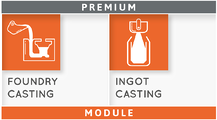 Module THERCAST® Foundry & Ingot Casting PREMIUM