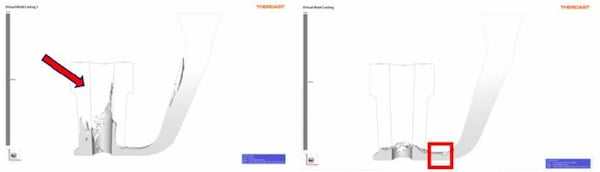 filtres fonderie THERCAST